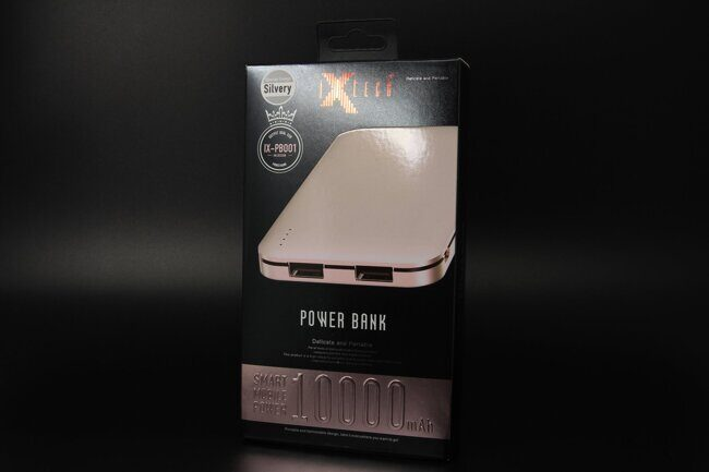 Power Bank iX-PB001(серый)