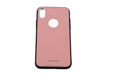 Чехол iX-CS02 for iPhone X (Pink)