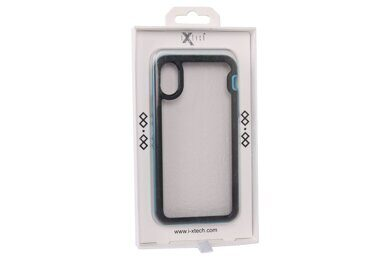 Чехол iX-CS04 for iPhone Х (Синий)