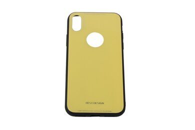 Чехол iX-CS02 for iPhone X (Yellow)